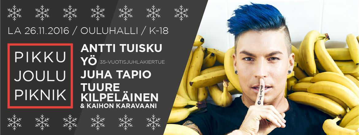 Suomipop Pikkujoulu Oulu