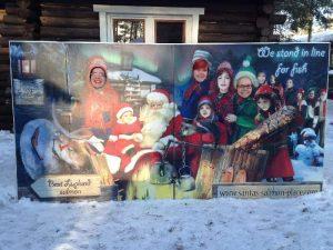 Seittinuoria joulupukin vieraana